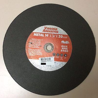 Wheel, Cut Off - General Purpose Metal & Steel Bonded 14 x 1/8 x 20mm Pack of 10
