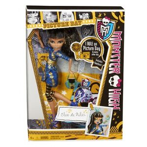 Monster High PICTURE DAY Cleo De Nile Doll NEW Original High School Fearbook !