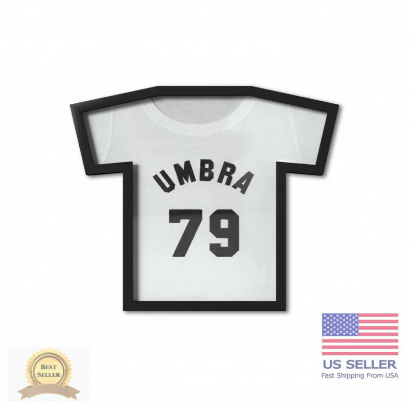 Umbra T-Frame Black T-Shirt Display Case, Small