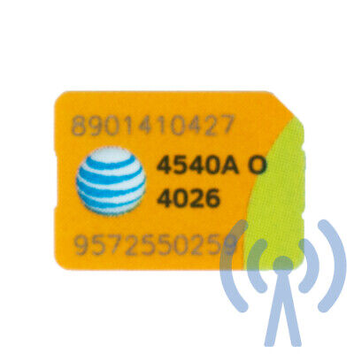 AT&T Unlimited Data 4G LTE $60/month + Nano SIM Card + One Month (Revcoo Ready)