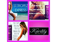 St Tropez & Crazy Angel Spray Tanning @Karilily Beauty