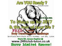 Free 4 Week Body Transformation Challenge