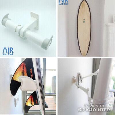 Wall surf board rack Air Surf Rack White BNIB