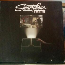 Smartphone Projector. Brand New In Box.