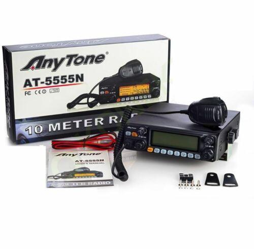 CB Radio ANYTONE AT-5555N 25.615 - 30.105Mhz AM/FM/SSB 40 Channel CB Transceiver