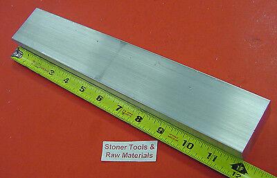 1 X 2 Aluminum 6061 Flat Bar 12 Long 1.00 Solid T6511 Plate New Mill Stock
