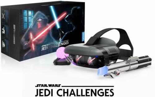 BRAND NEW STAR WARS JEDI CHALLENGES VR HEADSET W/ LIGHTSABER CONTROLLER & BEACON