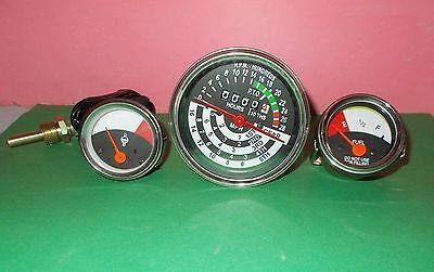 John Deere Tractor Tachometer Temperature Fuel Gauge Set 1010 2010 Replacement