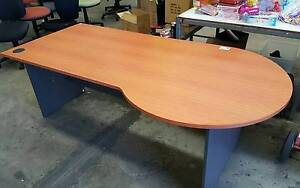 P-SHAPED DESK - large work office home study student reception Murarrie Brisbane South East Preview