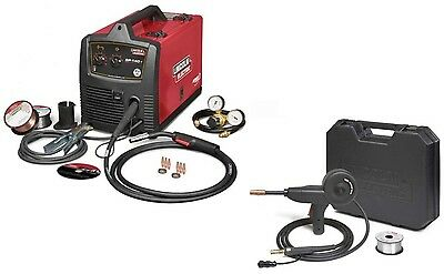 Lincoln Electric U2688-3s Sp-140t Mig Welder With K2532-1 Magnum 100 Sg Spoolgun