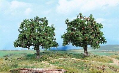 Heki 1939 ~ 2 Apfelbäume, Höhe 13 cm, Spur 0 / 1