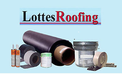 Epdm Rubber Roofing Kit Latex Bonding - 40000 Sq.ft. By The Lottes Companies