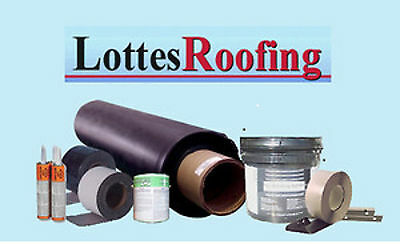 Epdm Rubber Roofing Kit Complete - 10000 Sq.ft. By The Lottes Companies