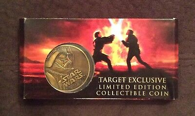 NEW Star Wars Episode III 3 Darth Vader Collector Coin Limited Edition LE RARE](Darth Vader Episode 3)