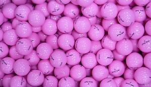 50 BRAND NEW OPTIC TOUR GOLF BALLS - PINK