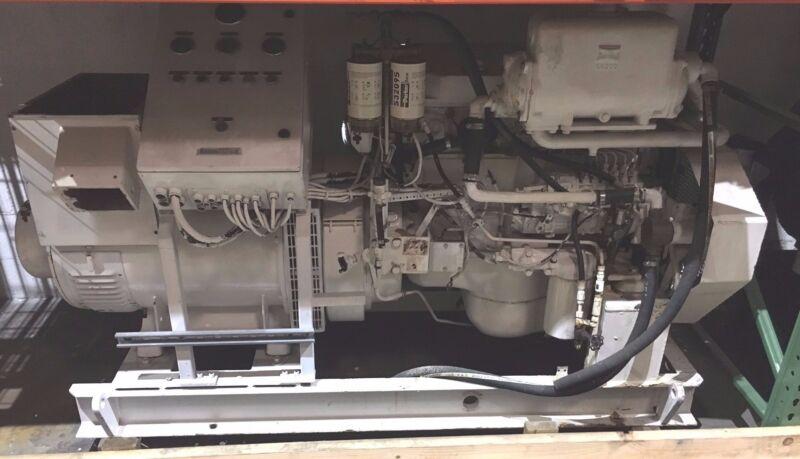 MTU Mercedes 6R-099 / OM366LA, Marine Diesel Generator, 100kW, 60 Hz