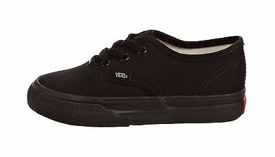 Vans Authentic Infant/Toddler Shoes For Boys Girls Black Sneakers - Vans For Toddler Girls