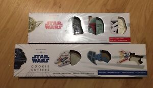 Brand New - Star Wars Cookie Cutters