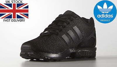 Custom Adidas ZX Flux decon womens Shoes Mens Black Xeon More