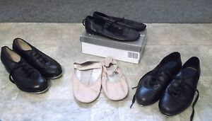Child's Ballet slippers, Jazz shoes, Tap shoes