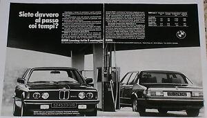 Advert-Pubblicita-Auto-1980-BMW-320-SERIE-3-E21-732i-SERIE-7-E23
