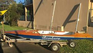 Fireball Intl Class 16ft Racing Dinghy w Trailer and Dolly Rowville Knox Area Preview