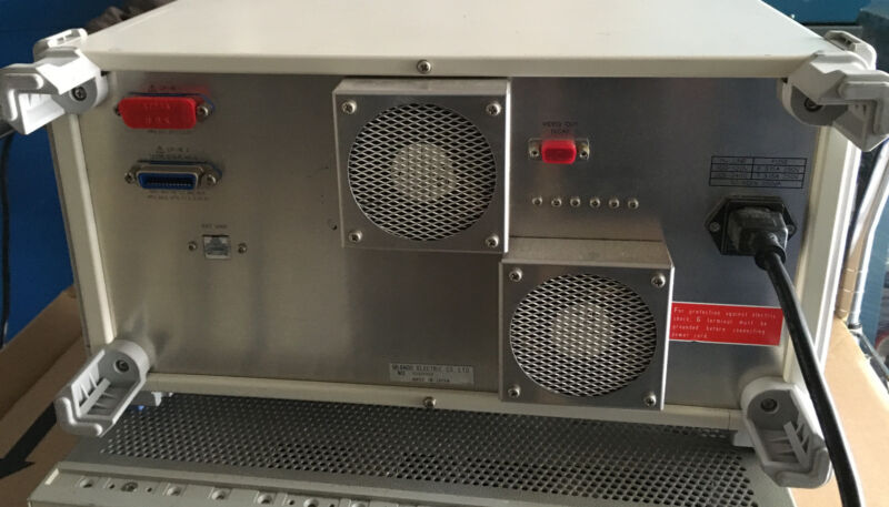 Ando Aq8423z C And L Band Optical Analyzer Amplifier