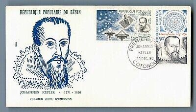 DR WHO 1980 BENIN FDC JOHANNES KEPLER  C240554