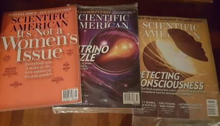 Scientific American magazines 2010 to 2017