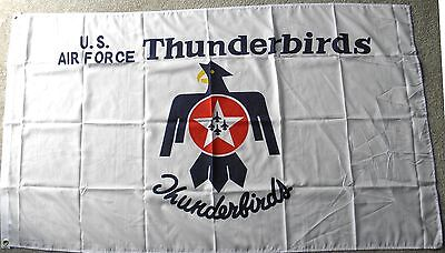 THUNDERBIRDS AIR FORCE USAF UNITED STATES POLYESTER FLAG 3 X 5 FEET