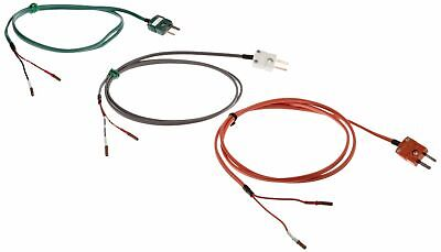 Martel 80036 R S N B Thermocouple Wire Kit With 3 Types Mini Plugs