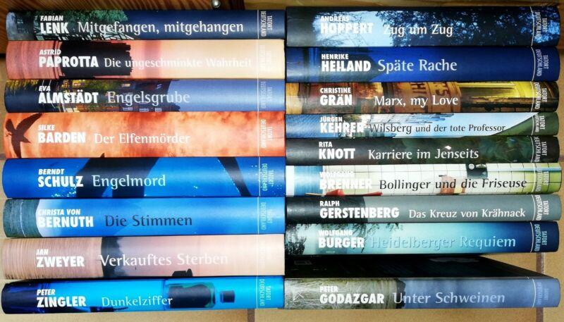 17x Tatort Deutschland Sammlung Paket set ENGELSGRUBE Eva Almstädt EIFELWASSER