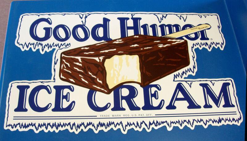 CLASSIC GOOD HUMOR Ice Cream Bar Decal / Sticker - LARGE, DIE CUT, ~RARE~