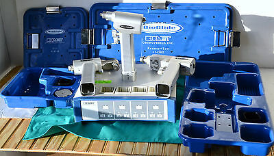 Biomet Bioglide Orthopedic Set. Drill Saw Reamer With 4-bay Battery Charger