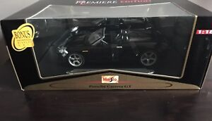 "BLACK ""PORSCHE CARRERA GT"" COLLECTABLE MODEL CAR --HOT PRICE!!!"