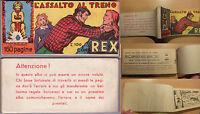 Albo Serie Invincibili - ,l'assalto Al Treno, Con Rex - A.ii° N.5 Marzo 1956 -  - ebay.it