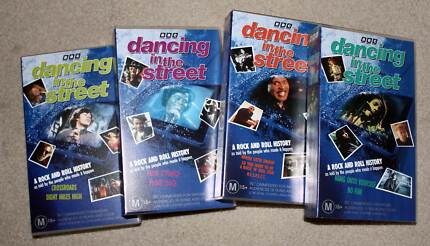 Dancing In The Street BBC VHS Box Set