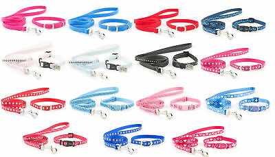 Ancol Small Bite Puppy / Small Dog Collar and Lead Sets Set