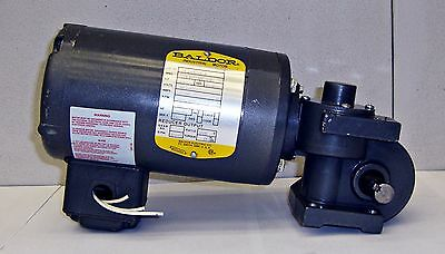 Baldor Industrial Motor W Reducer Cat-74-249356-b Hp 112 14074ell