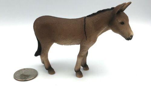 Schleich DONKEY Burro 2008 Retired Farm Animal Figure 13644