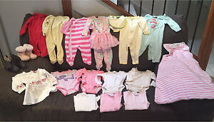 *Used* Baby Girl Winter Clothes/Etc. (for age around 6months) Pemulwuy Parramatta Area Preview