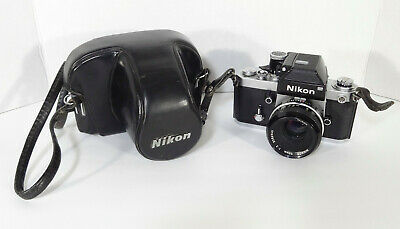 Nikon F2 Photomic w/50mm f/2 Lens- GREAT COND- VERY NICE FILM CAMERA•FAST SHIP