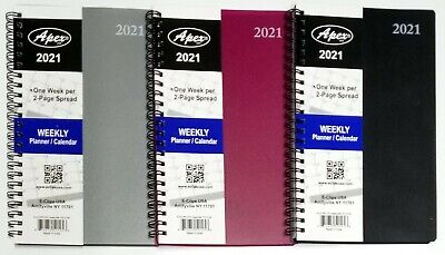 2021 Weeklymonthly Planner Calendar Agenda Organizer 5 X 8 Select Color
