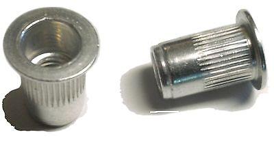 Rivet Nuts 10-24 Aluminum 25pc Buy 3 Or More10 Rebate Rivnut Riv Nut Nutsert