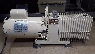Varian Sd-450 Vacuum Pump