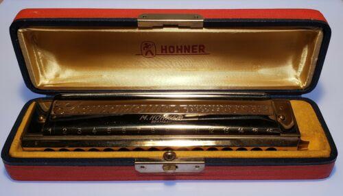 Hohner 64 Chromonica Harmonica - Key of C - Excellent Condition