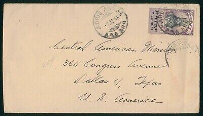 Mayfairstamps Ethiopia 1946 to US Dallas TX Cover wwo89031