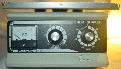 Lab-line 3520 Heavy Duty Orbit Shaker Mixer - works well - @@LOOK@@