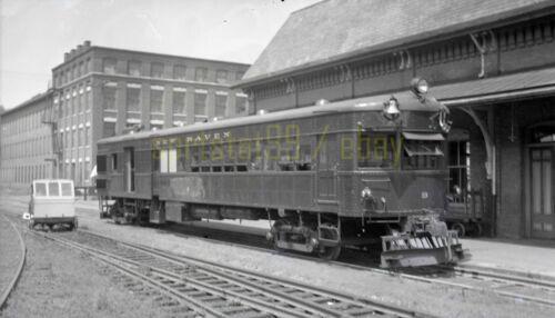 NH New York New Haven & Hartford Locomotive #9 - Vtg Railroad Negative