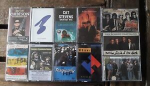 Classic Rock Tape Cassettes(Tested & sound great)